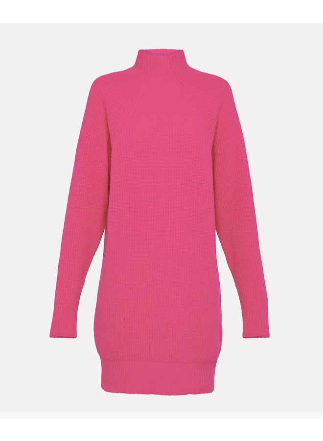 FORTE_FORTE CARDED WOOL MINIDRESS FUNNY