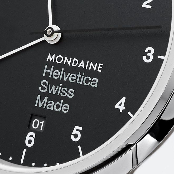 Mondaine Helvetica No1 Regular MH1.R2220.LB