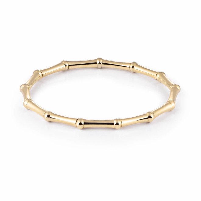 Al Coro Strechy armband geelgoud A137G