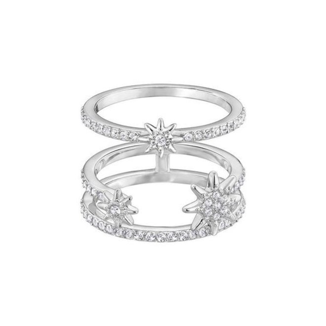 Swarovski 5257466 Fizzy Crystal Ring Set