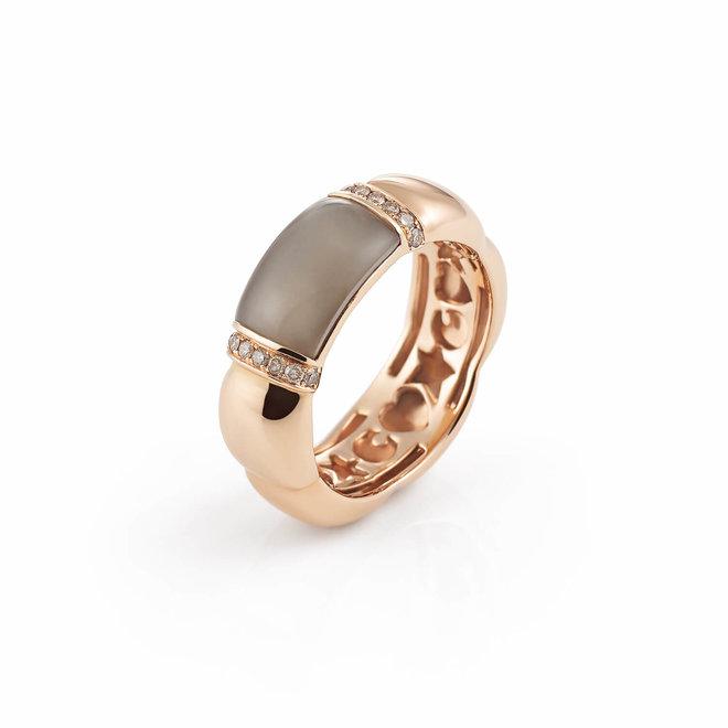 Al Coro La Piazza ring  roségoud NR479SQR