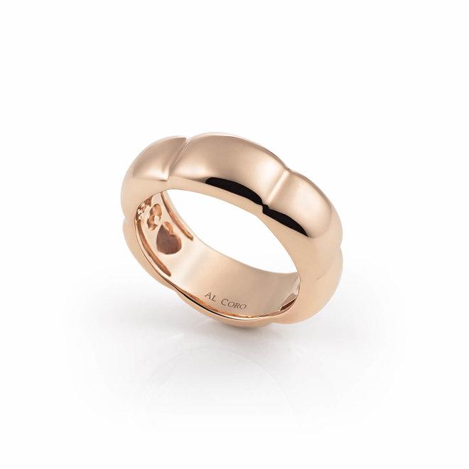 Al Coro La Piazza ring  roségoud NR825R