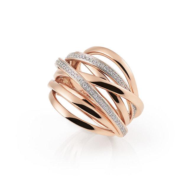 Al Coro Serenata ring  roségoud NR954R