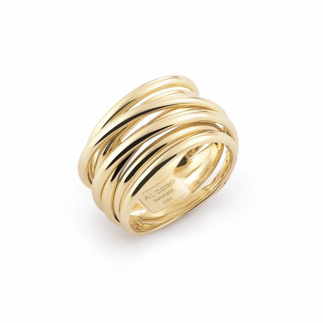 Al Coro Serenata ring geelgoud R6403G
