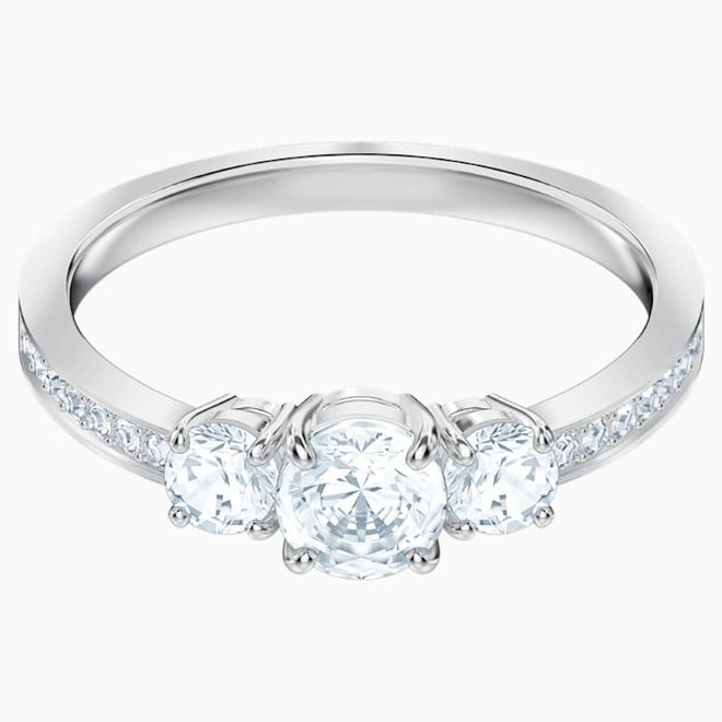 Swarovski 5448901 Attract Trilogy Ring
