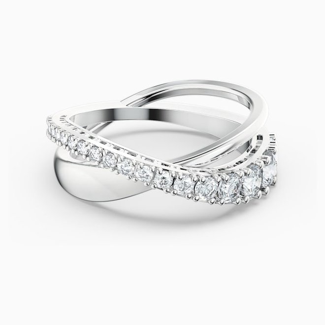 Swarovski 5563911 Twist Rows Ring