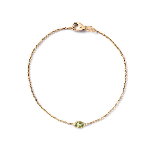 Miss Spring armband Ma Petite Peridot MSA508PE-GG