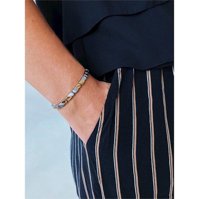 Boccia Titanium armband 03016-02