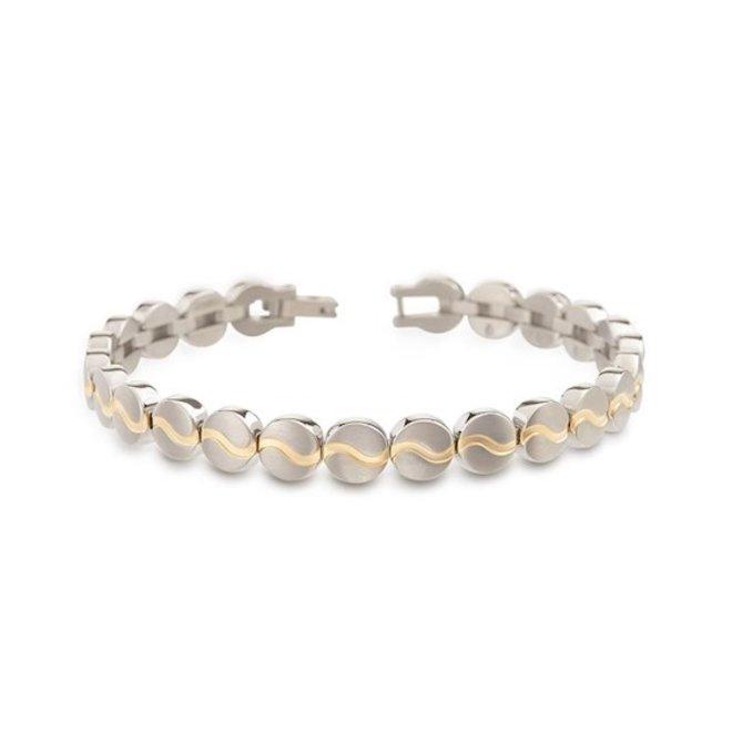 Boccia Titanium armband 03023-02
