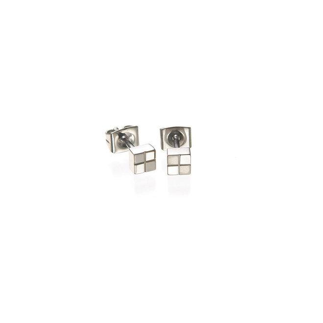 Boccia Titanium oorsieraad 0518-01