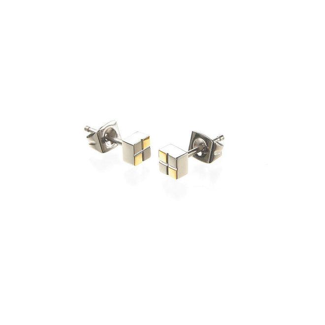 Boccia Titanium oorsieraad 0518-03