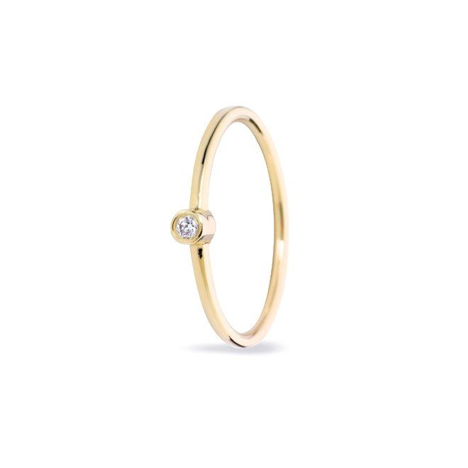 Miss Spring ring Button Diamant MSR024DI-GG
