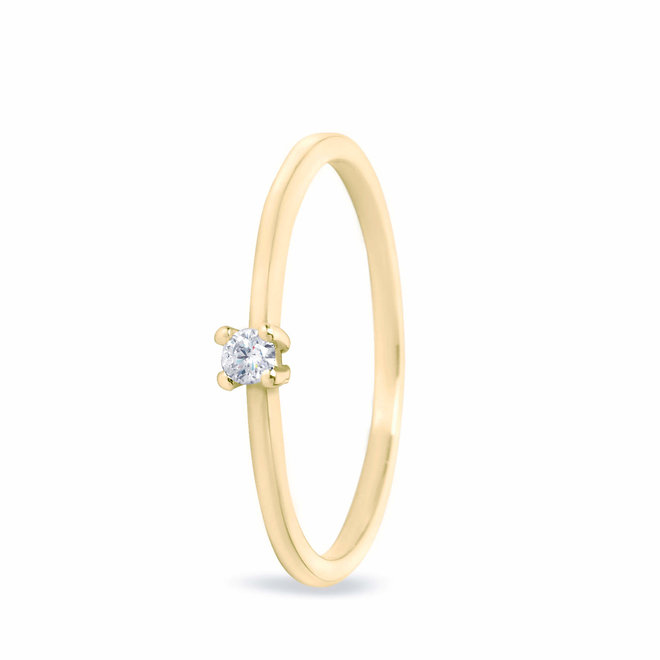 Miss Spring ring Brilliantly Briljant  MSR506GG-DI