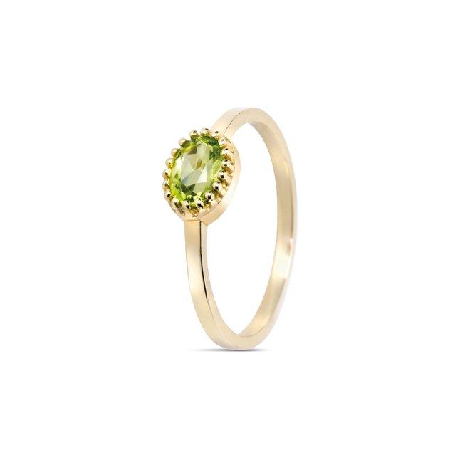 Miss Spring ring Ma Petite peridot MSR510PE-GG