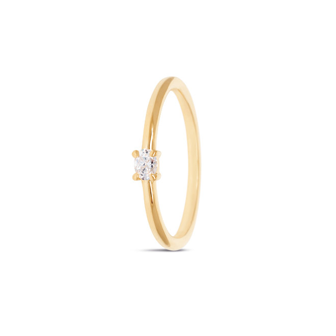 Miss Spring ring Brilliantly Ovaal diamant MSR570GG-DI