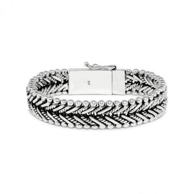S!lk Jewellery armband CLASSIC CHEVRON 234