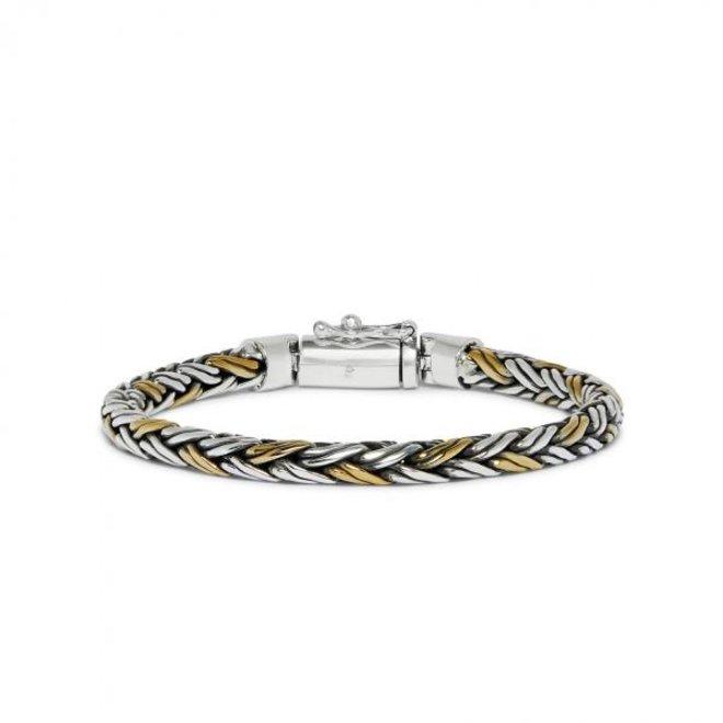 S!lk Jewellery armband bicolor RAW 281