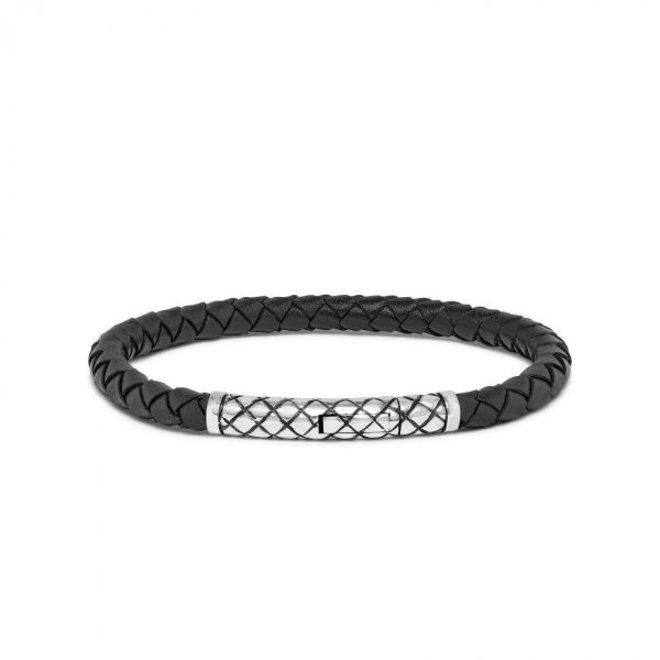 S!lk Jewellery armband CROSSLINE 427BLK