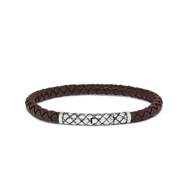 S!lk Jewellery armband CROSSLINE 427BRN