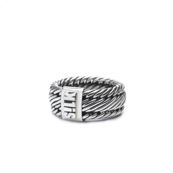 S!lk Jewellery ring WEAVE 732