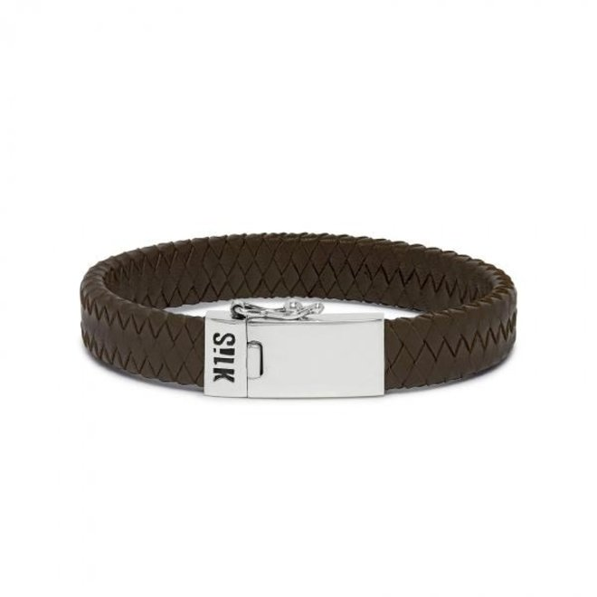 S!lk Jewellery armband ALPHA 841BRN