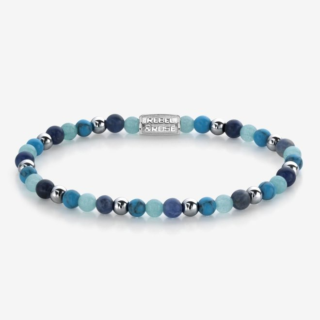 Rebel&Rose armband More Balls Than Most - Blue Summer Vibes II 40054-S