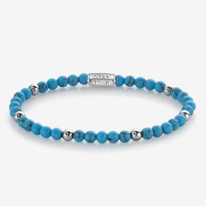 Rebel&Rose armband More Balls Than Most - Turquoise Delight II 40058-G