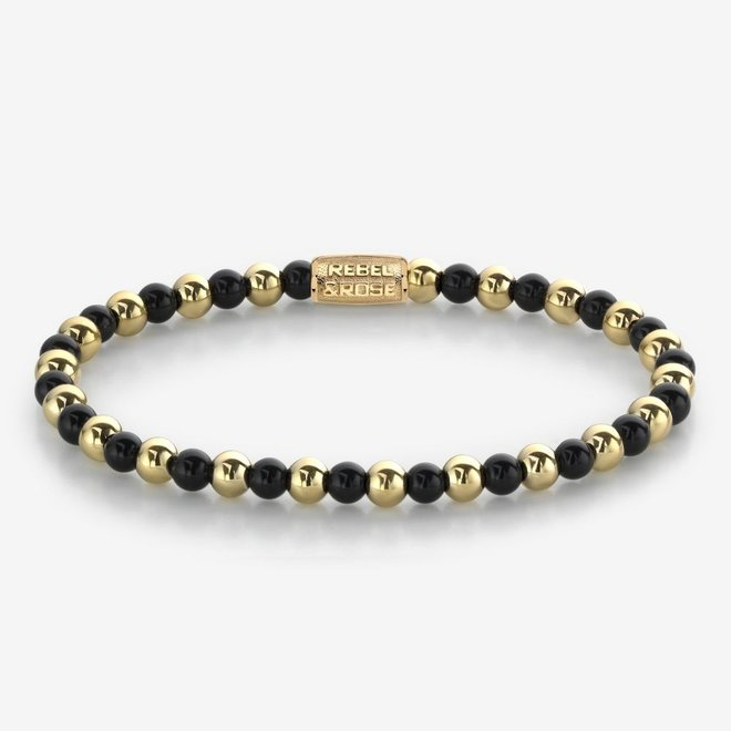 Rebel&Rose armband More Balls Than Most - Mix Black Madonna 40061-G