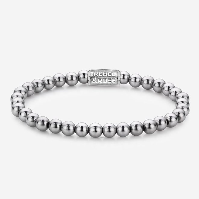 Rebel&Rose armband Stones Only - Silver Shine 60020-S