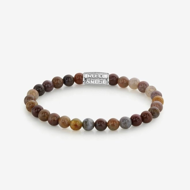 Rebel&Rose armband Stones Only - Indian Spring 60041-S