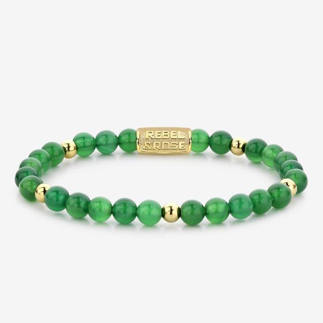 Rebel&Rose armband More Balls Than Most - Green Harmony 60067-G