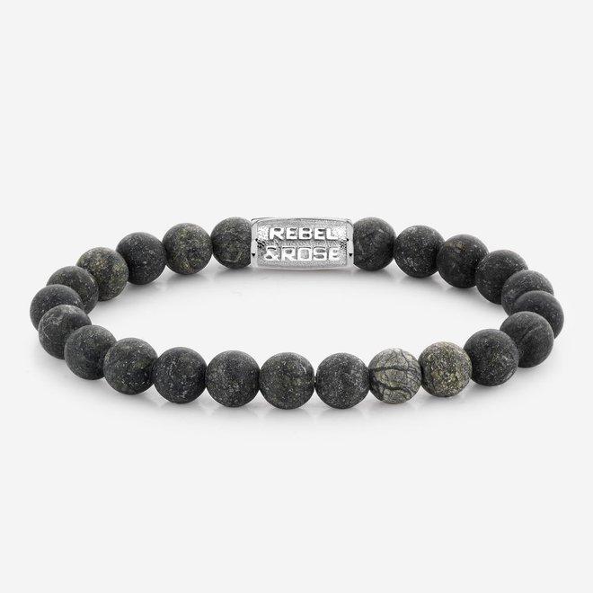 Rebel&Rose armband Stones Only - Matt Traveller 80033-S