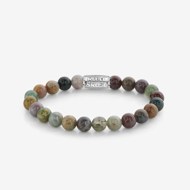 Rebel&Rose armband Stones Only - Indian Summer 80049-S