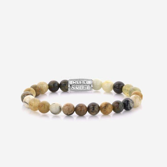 Rebel&Rose armband Stones Only - Forrest Morning 80061-S