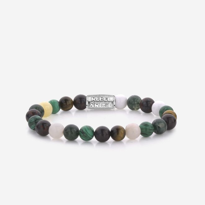 Rebel&Rose armband Stones Only - More Colours Than Most 80065-S