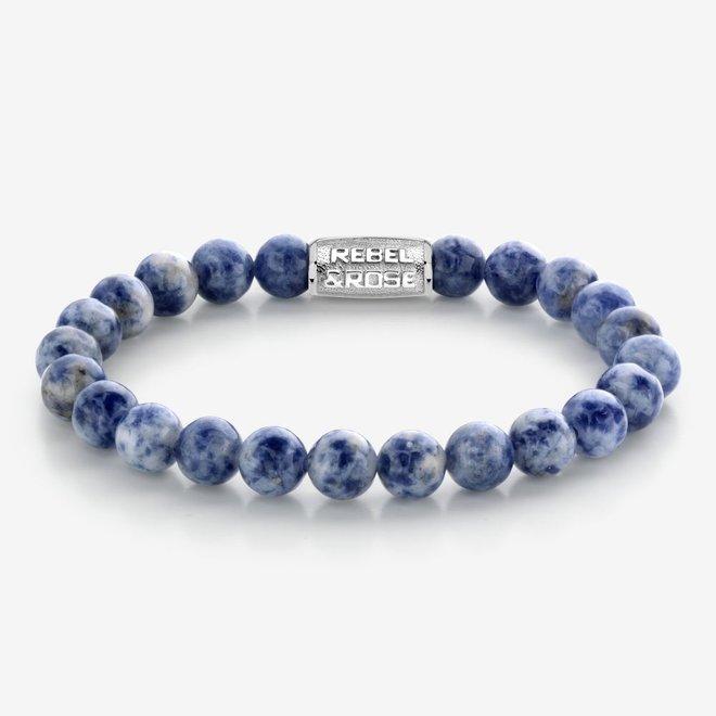 Rebel&Rose armband Stones Only - Dutch Delfts Blue 80079-S