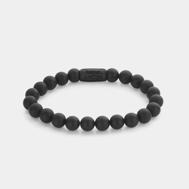 Rebel&Rose armband  Mad Panther - All-Black 80082-B-M