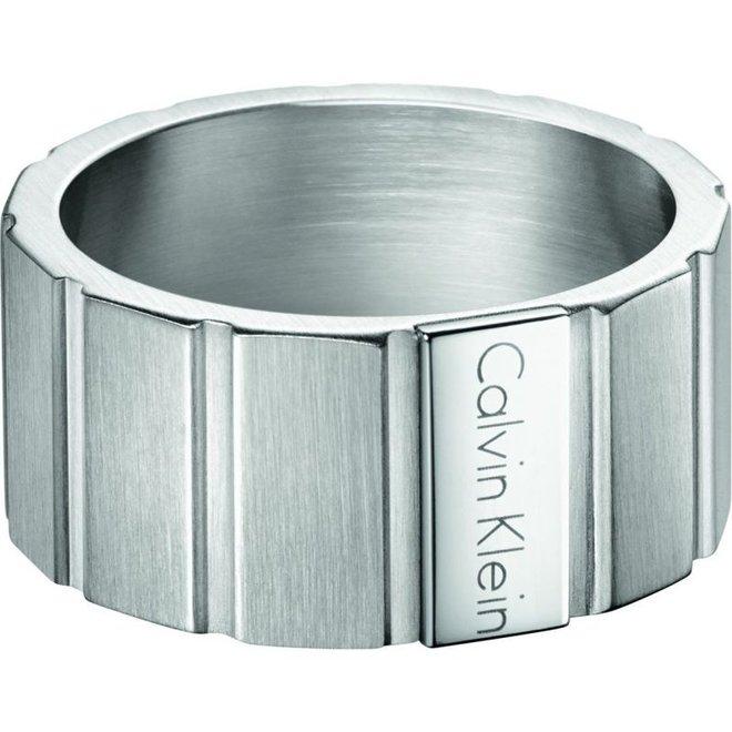 Calvin Klein ring Plate KJ5SMR080110