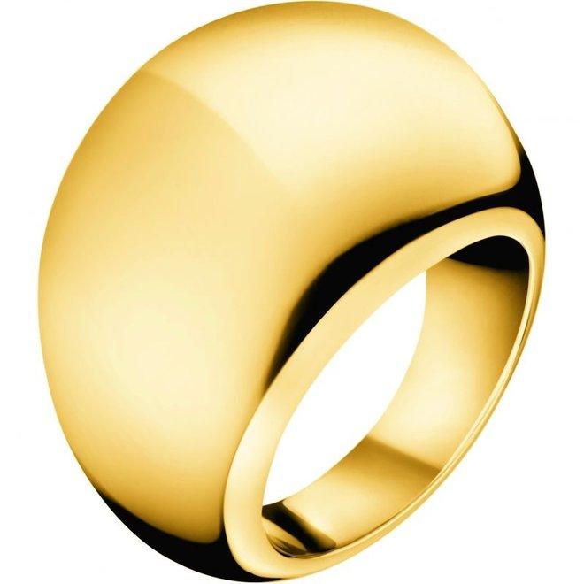 Calvin Klein ring Ellipse KJ3QJR100106