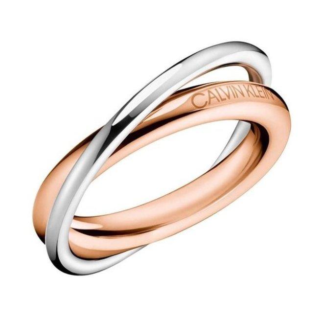 Calvin Klein ring Double KJ8XPR200107