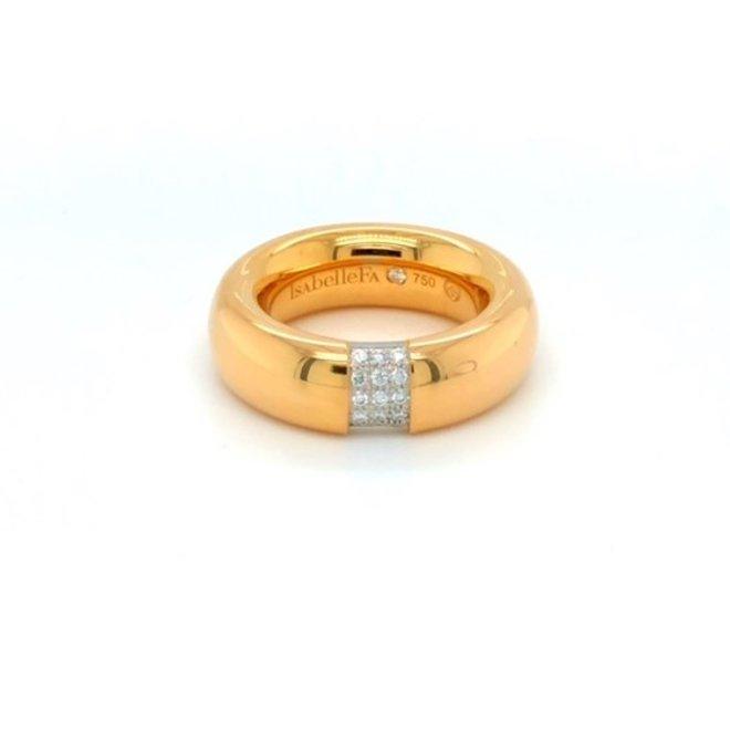 IsabelleFa Domino ring roségoud 13464/08.41