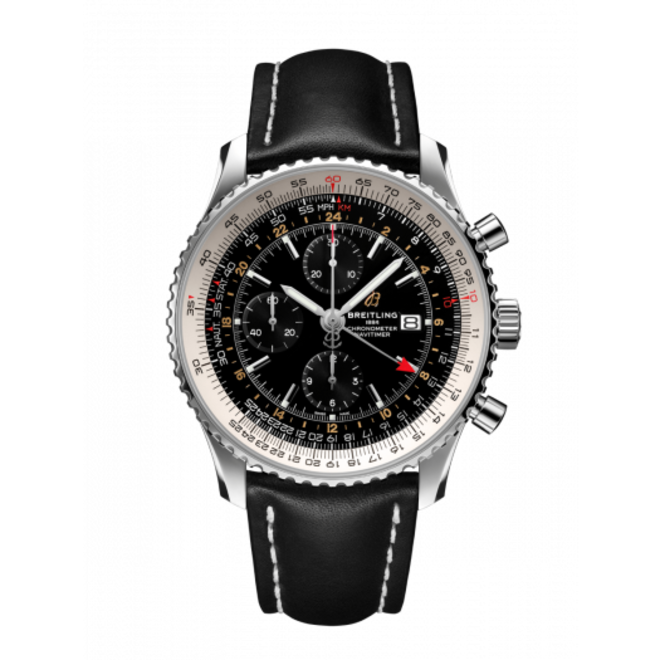 Breitling Navitimer Chronograph GMT 46 A24322121B2X2