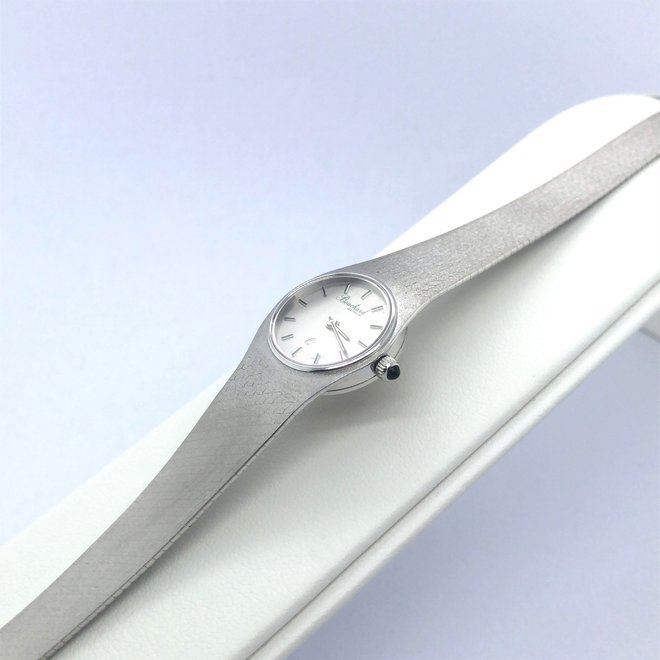 Witgouden occasion Bouchard horloge
