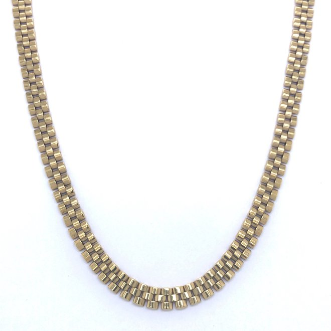 Geelgouden occasion collier