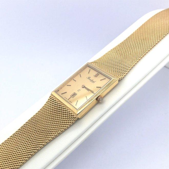 Geelgouden occasion Bouchard horloge