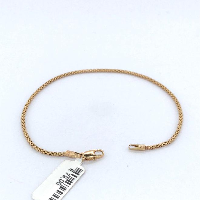8 Karaats geelgouden occasion armband