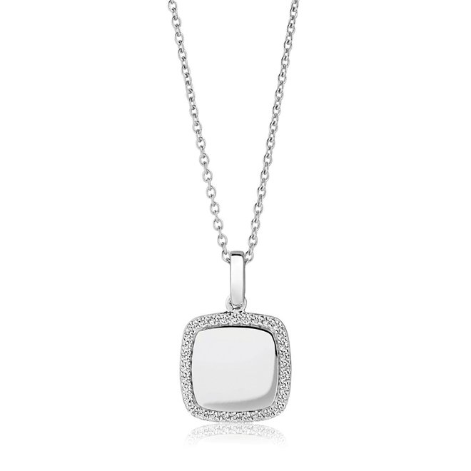Sif Jakobs Follina Quadrato collier SJ-P3774-CZ/45