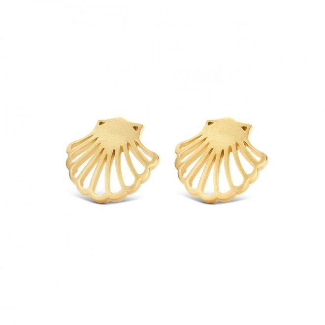 Spirit Icons Shell oorstekers 40862