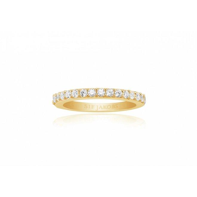 Sif Jakobs Corte Uno ring SJ-R10811-CZ-YG/54