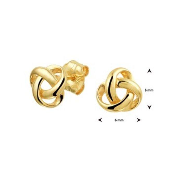 Gouden Essentials oorsieraad  (No. 43) 40.20121